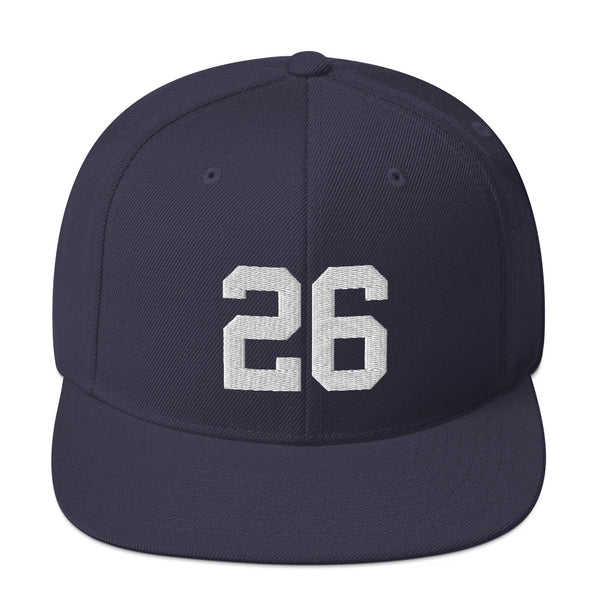 DJ LeMahieu #26 Snapback Hat-Player Number Hat-Coverage Gear
