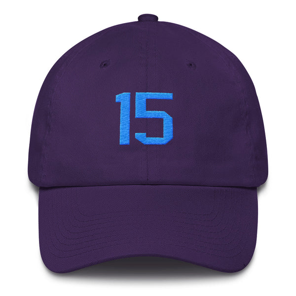Kemba Walker #15 Dad Hat-Player Number Hat-Coverage Gear