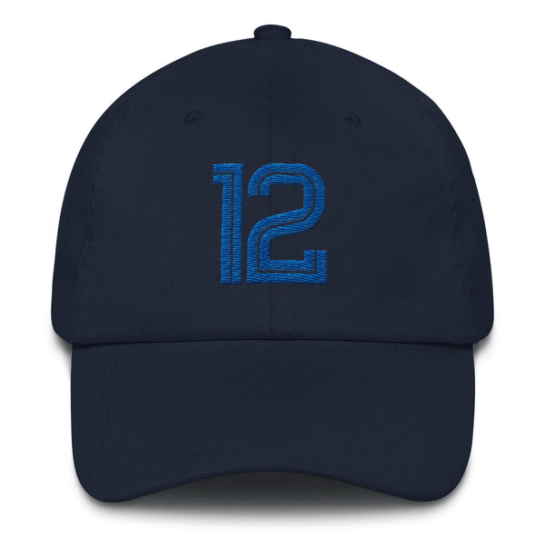 Ja Morant #12 Dad Hat-Player Number Hat-Coverage Gear