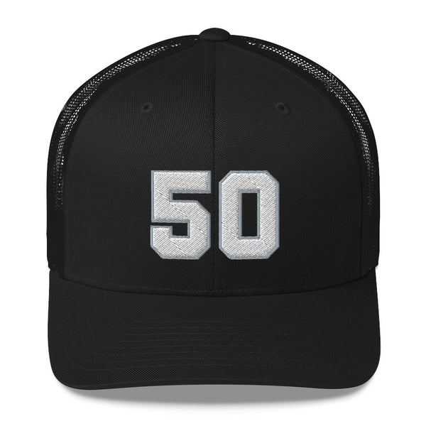 David Robertson #50 Trucker Cap-Player Number Hat-Coverage Gear