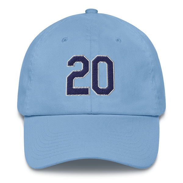 Tyler Glasnow #20 Dad Hat-Player Number Hat-Coverage Gear