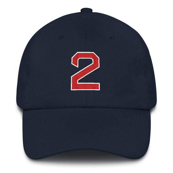 Xander Bogaerts #2 Dad Hat-Player Number Hat-Coverage Gear