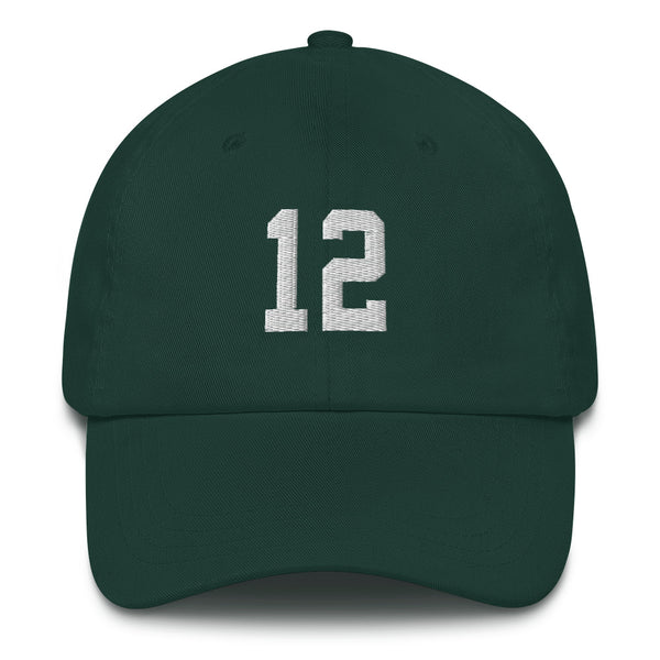 Aaron Rodgers #12 Dad hat