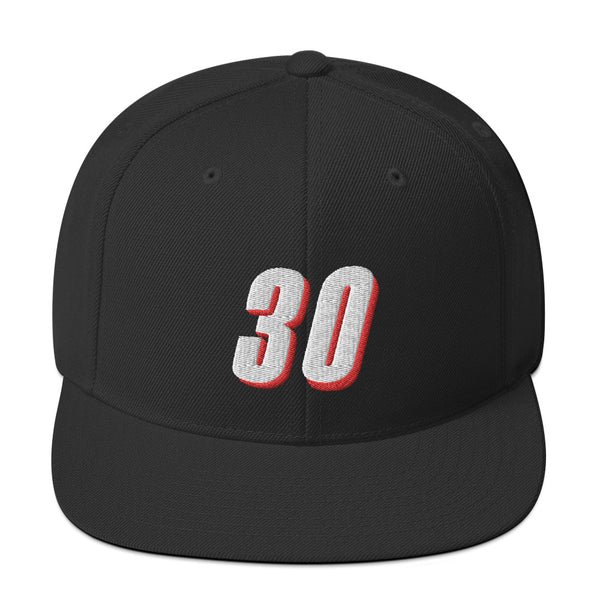 Rasheed Wallace #30 Snapback Hat-Player Number Hat-Coverage Gear