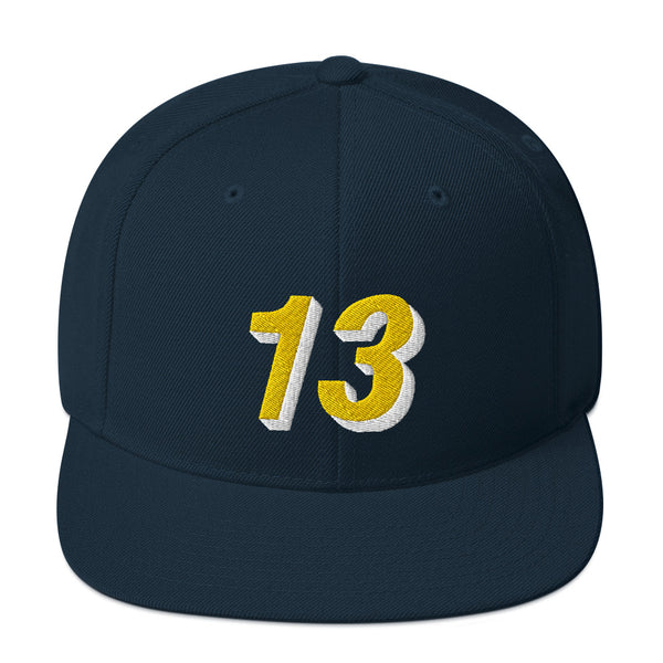 Mark Jackson #13 Snapback Hat-Player Number Hat-Coverage Gear