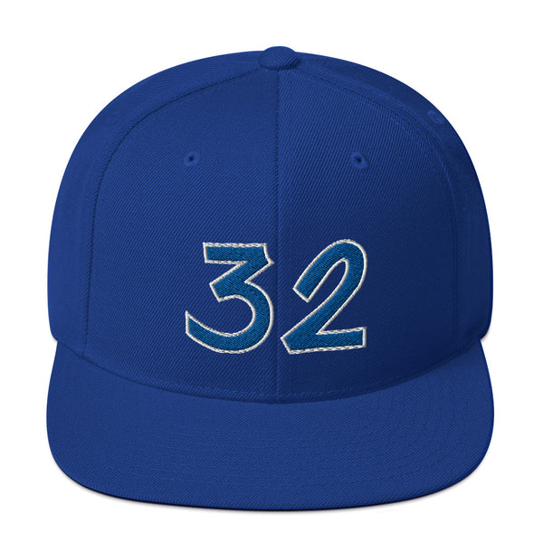 Shaquille O'Neal #32 Snapback Hat-Player Number Hat-Coverage Gear