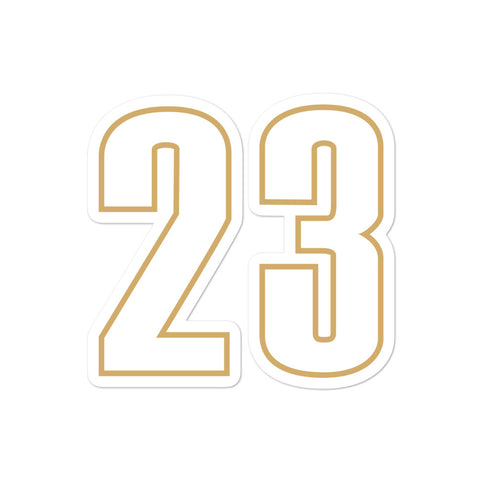 LeBron James #23 Sticker