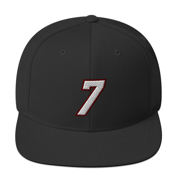Goran Dragic #7 Snapback Hat-Player Number Hat-Coverage Gear