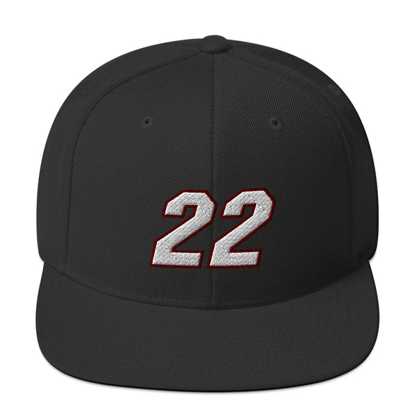 Jimmy Butler #22 Snapback Hat-Player Number Hat-Coverage Gear