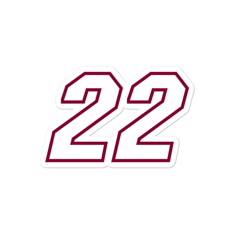 Jimmy Butler #22 Sticker