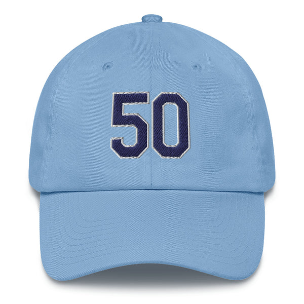 Charlie Morton #50 Dad Hat-Player Number Hat-Coverage Gear
