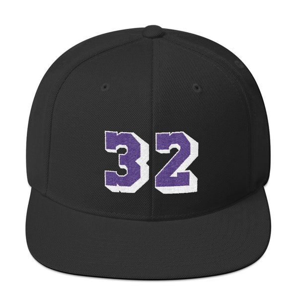 Magic Johnson #32 Snapback Hat-Player Number Hat-Coverage Gear