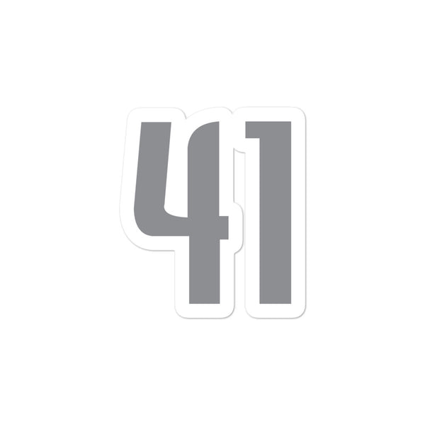 Dirk Nowitzki #41 Sticker