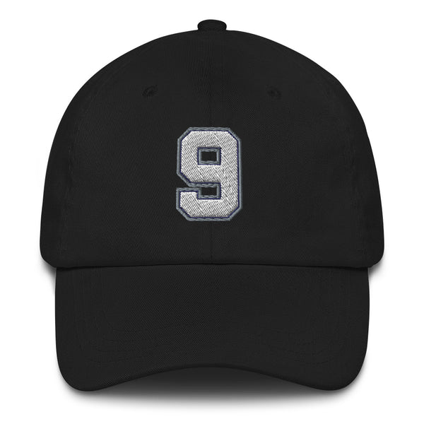 Tony Parker #9 Dad Hat-Player Number Hat-Coverage Gear