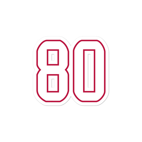 Andre Johnson #80 Sticker