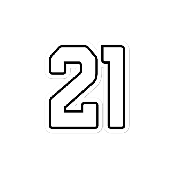Patrick Peterson #21 Sticker