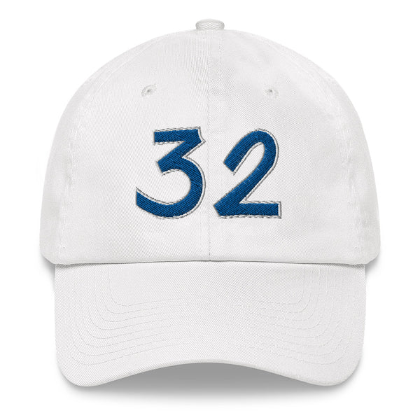Shaquille O'Neal #32 Dad Hat-Player Number Hat-Coverage Gear