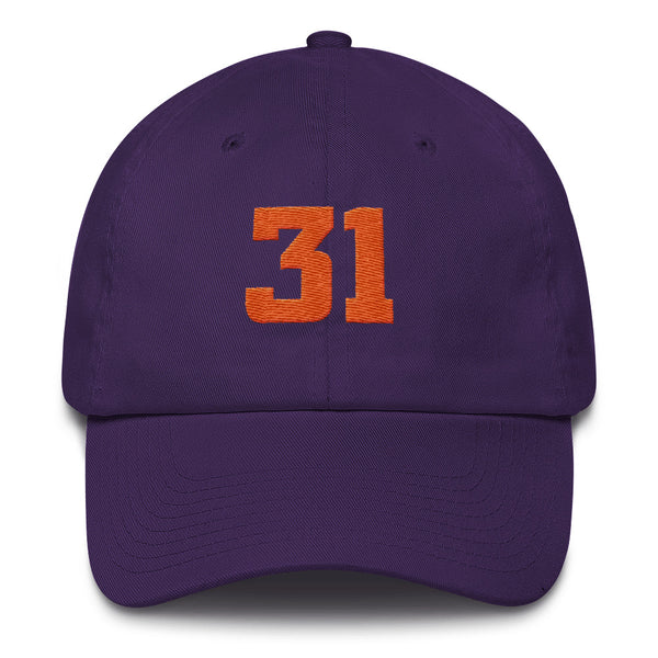 Shawn Marion #31 Dad Hats-Player Number Hat-Coverage Gear