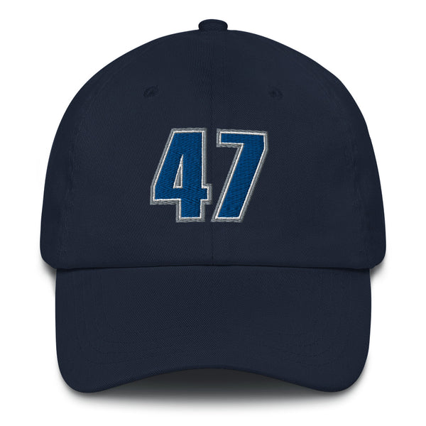Andrei Kirilenko #47 Dad hat-Player Number Hat-Coverage Gear