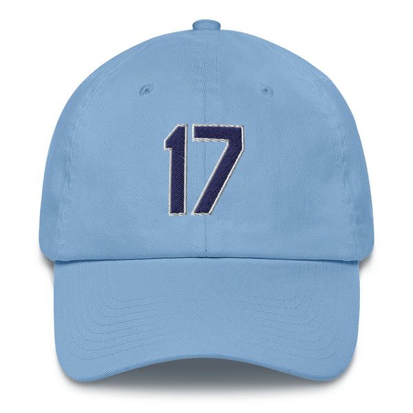 Austin Meadows #17 Dad Hat-Player Number Hat-Coverage Gear