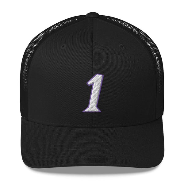 Tracy McGrady #1 Trucker Cap-Player Number Hat-Coverage Gear