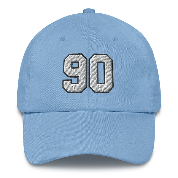 Julius Peppers #90 Dad Hat-Player Number Hat-Coverage Gear