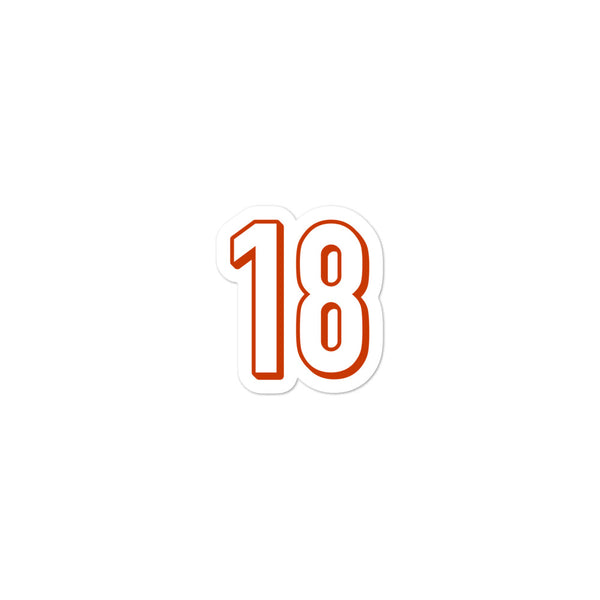 A.J. Green #18 Sticker