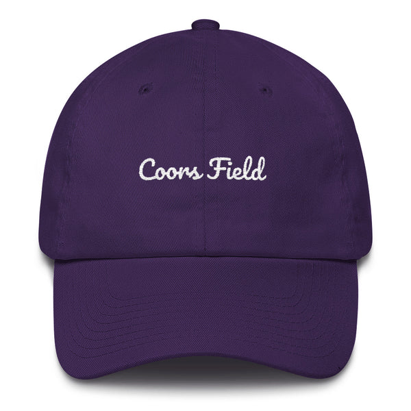 Coors Field Dad Hat