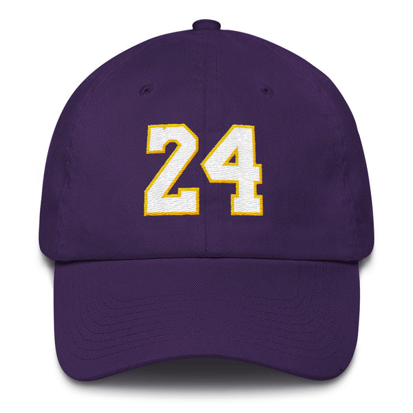 Kobe Bryant #24 Dad Hat-Player Number Hat-Coverage Gear