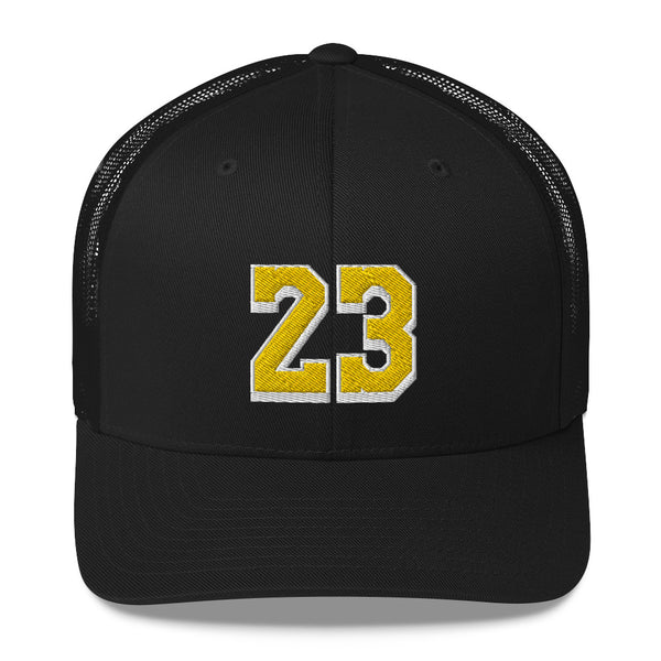 LeBron James #23 Trucker Cap-Player Number Hat-Coverage Gear