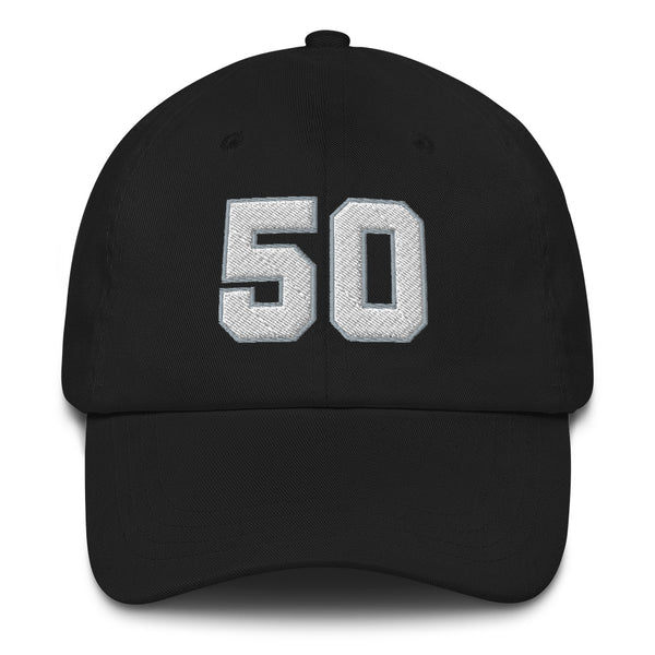 David Robertson #50 Dad Hat-Player Number Hat-Coverage Gear