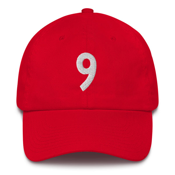 Serge Ibaka #9 Dad Hat-Player Number Hat-Coverage Gear
