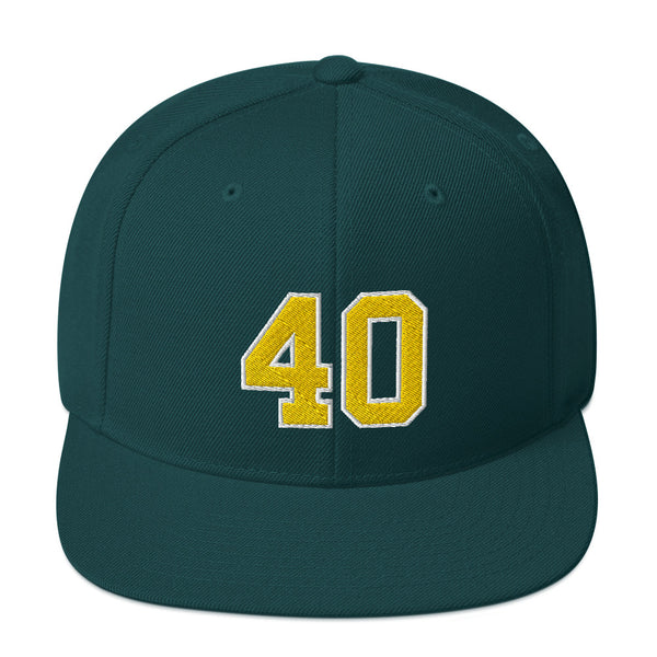 Shawn Kemp #40 Snapback Hat-Player Number Hat-Coverage Gear