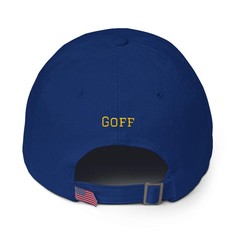 Jared Goff #16 Dad Hat