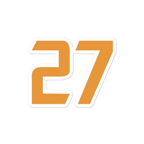 Rudy Gobert #27 Sticker