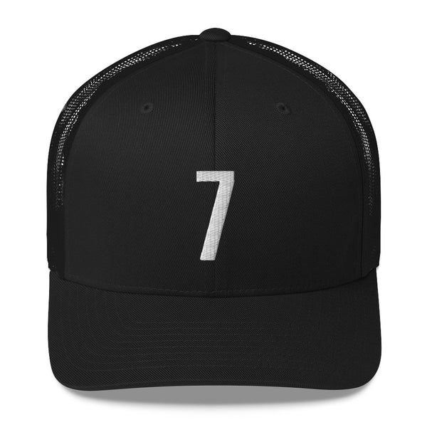 Kevin Durant #7 Trucker Cap-Player Number Hat-Coverage Gear