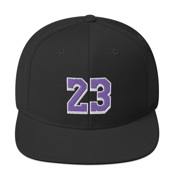 LeBron James #23 Snapback Hat-Player Number Hat-Coverage Gear