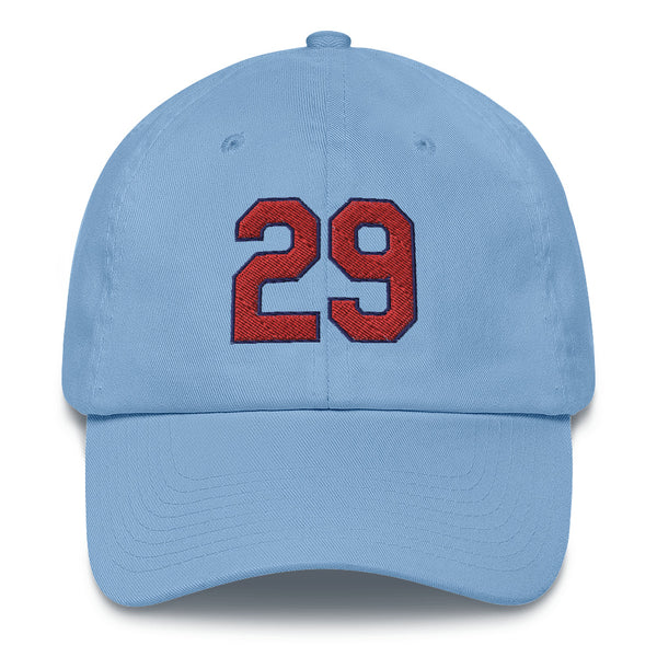 Rod Carew #29 Baseball Cap-Player Number Hat-Coverage Gear