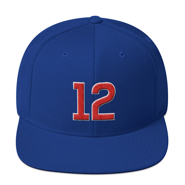 Kyle Schwarber #12 Snapback Hat-Player Number Hat-Coverage Gear