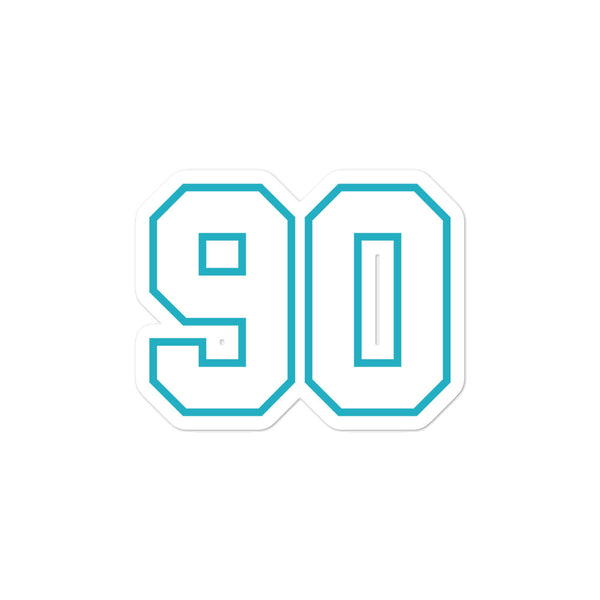 Julius Peppers #90 Sticker
