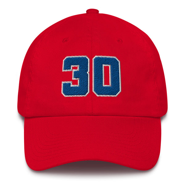 Bernard King #30 Dad Hat-Player Number Hat-Coverage Gear