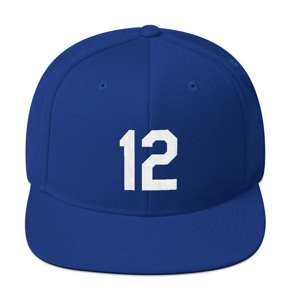 Jorge Soler #12 Snapback Hat-Player Number Hat-Coverage Gear