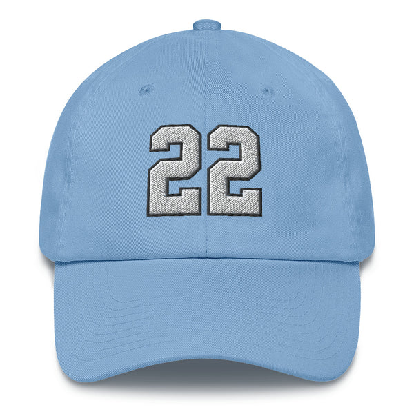 Christian McCaffrey #22 Dad Hat-Player Number Hat-Coverage Gear