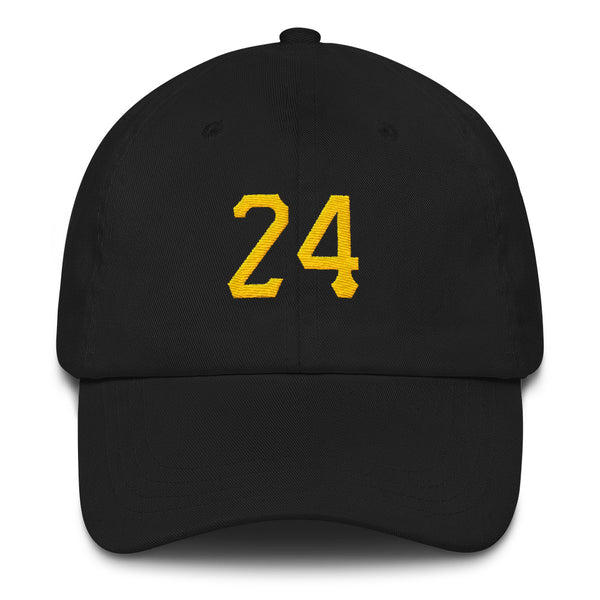 Barry Bonds #24 Dad Hat-Player Number Hat-Coverage Gear