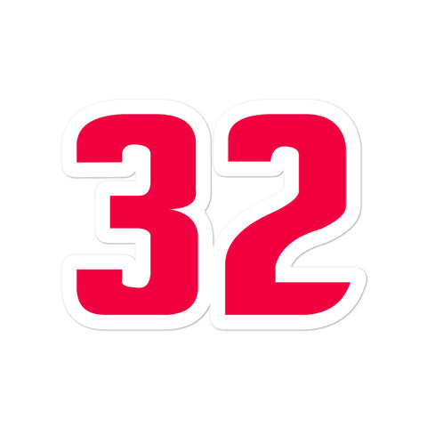 Richard Hamilton #32 Sticker