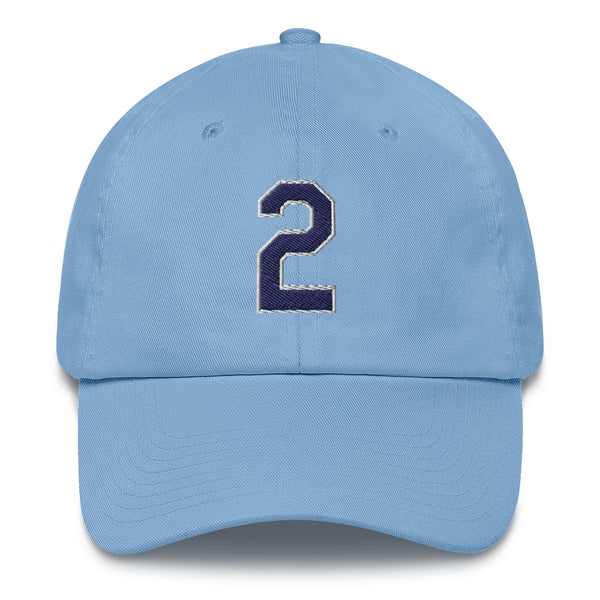 Yandy Diaz #2 Dad Hat-Player Number Hat-Coverage Gear