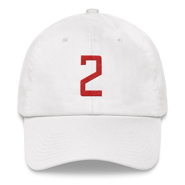 Kawhi Leonard #2 Dad Hat-Player Number Hat-Coverage Gear