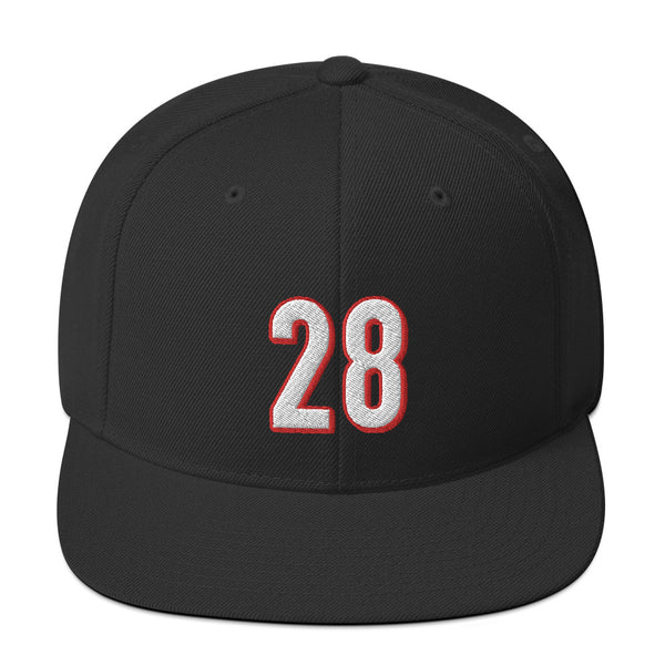 Joe Mixon #28 Snapback Hat-Player Number Hat-Coverage Gear