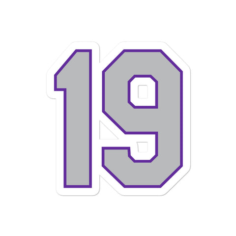 Charlie Blackmon #19 Sticker
