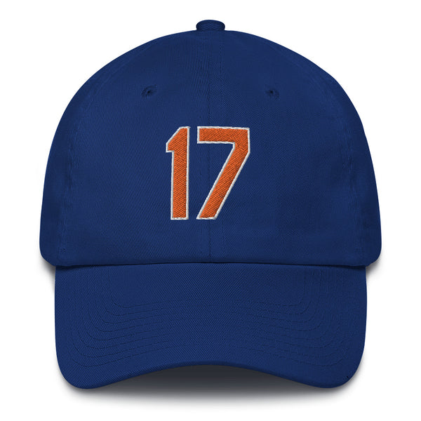 Keith Hernandez #17 Dad Hat-Player Number Hat-Coverage Gear